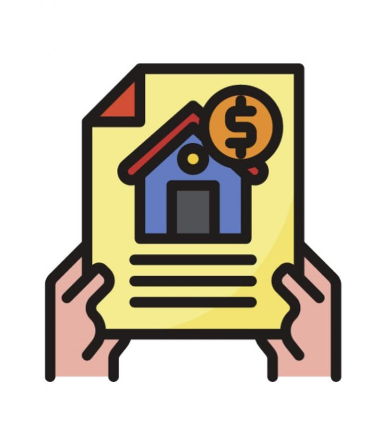 mortgage deed icon